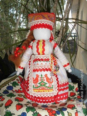Это вторая моя кукла в национальном костюме. За идею еще раз  спасибо ОкОсАнА  https://stranamasterov.ru/node/1090098?c=favorite  фото 1