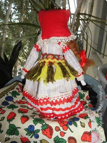 Это вторая моя кукла в национальном костюме. За идею еще раз  спасибо ОкОсАнА  https://stranamasterov.ru/node/1090098?c=favorite  фото 2