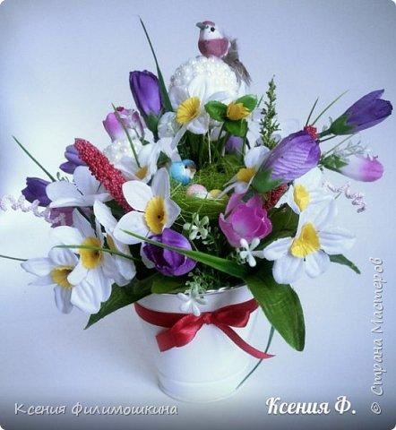 Мои цветочные композиции фото 5