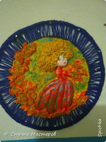 """Работа для выставки в детском саду на тему: """"краски осени"""" (на скорую руку, может идея кому-то пригодится)) фото 3"""