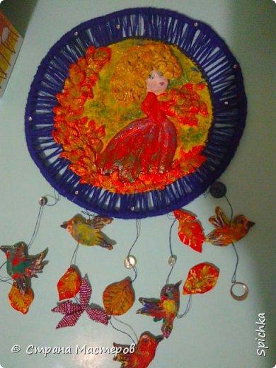 """Работа для выставки в детском саду на тему: """"краски осени"""" (на скорую руку, может идея кому-то пригодится)) фото 2"""