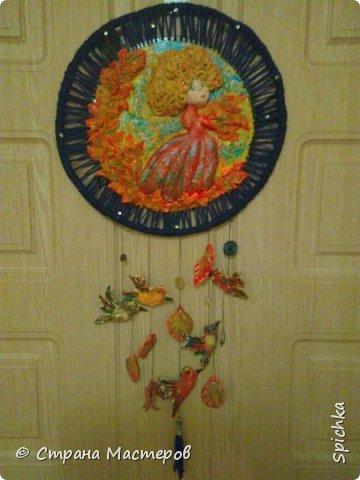 """Работа для выставки в детском саду на тему: """"краски осени"""" (на скорую руку, может идея кому-то пригодится)) фото 1"""