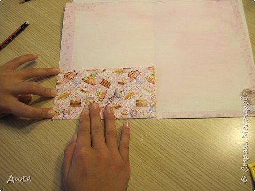 Всем привет!  Сегодня хочу вам показать вторую открытку, которую я сделала для одноклассницы. У неё день рождения 21 октября. Идею увидела интернете. Открытку сделала на А4, альбомный лист для акварельных красок.  фото 18