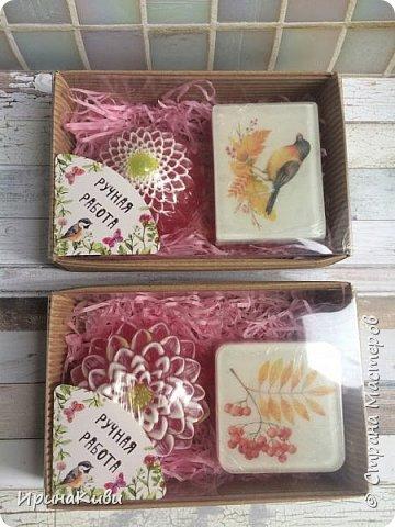 Покажу свои мыльные творения за сентябрь.  Этот набор сделала своей маме на День Рождения. Первый раз опробовала форму с буквами. Очень понравился результат! фото 11