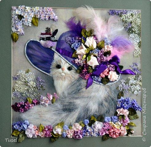 Кошка в шляпе. фото 1
