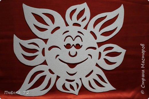 солнышко из потолочной плитки