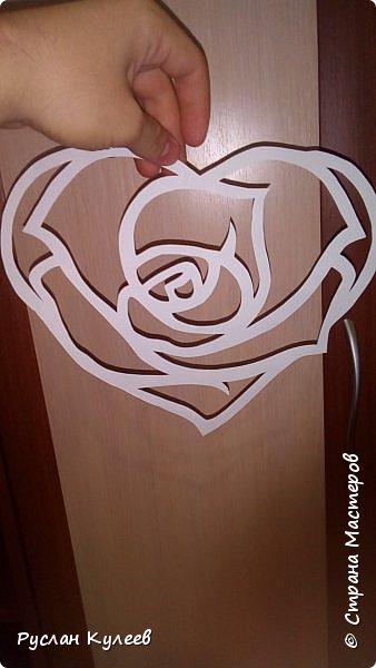 Роза в сердце фото 1