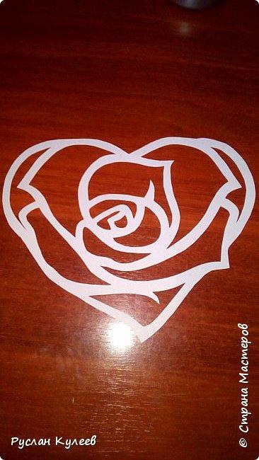 Роза в сердце фото 2