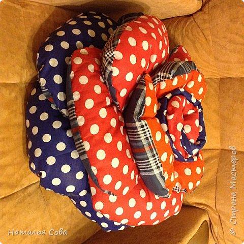 Ещё одна подушечка в горошек фото 3