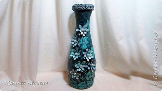 Шикарная ваза из бутылки