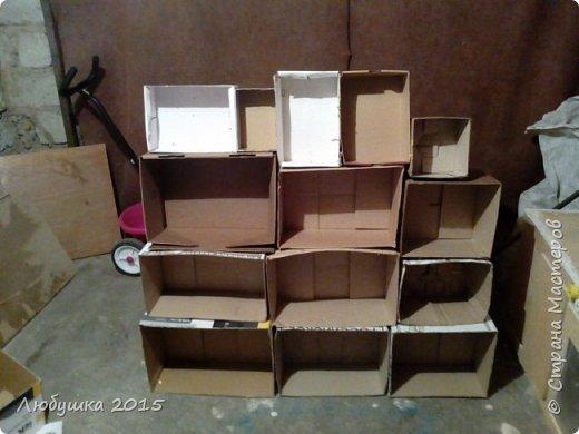 """Начали мы приучаться к порядку с """"домика"""" для игрушек.  фото 2"""