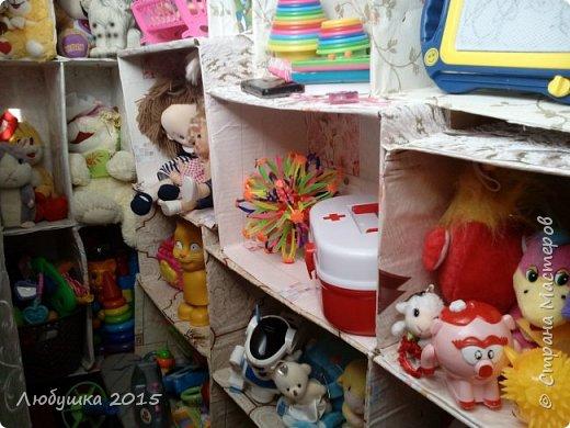 """Начали мы приучаться к порядку с """"домика"""" для игрушек.  фото 5"""