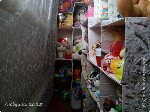 """Начали мы приучаться к порядку с """"домика"""" для игрушек.  фото 1"""