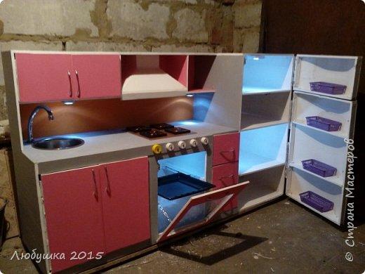 Кухня детская в подарок на день рождения доченьке любимой фото 6