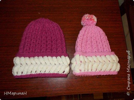 Скоро зима, утепляемся, решила показать шапочки фото 3