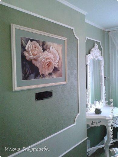 Частичная вышивка крестом , вышиты только розы.  фото 5