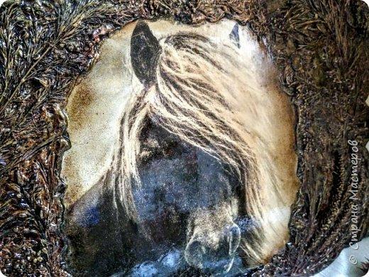 """Терра-панно """"Лошадь"""" фото 6"""