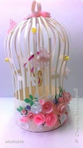 декоративная клетка для птиц