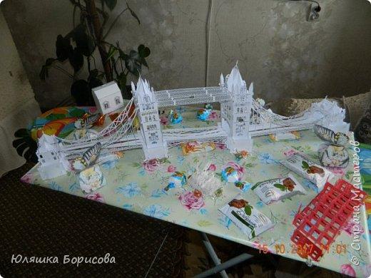 Вот ОН мой мост!!! Кропотливая работа в течении двух недель и вот мой подарок маме на день рождения готов!!! фото 2