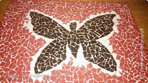Мозаичное панно из битой керамики фото 1