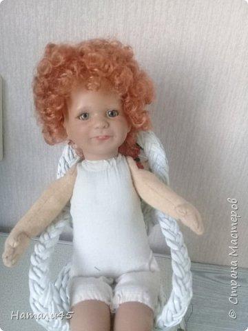 Здравствуйте, дорогие жители Страны мастеров. Давненько я здесь не была. Хочу вам рассказать историю реставрации маленькой куклы Маруси. фото 7