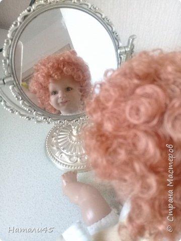 Здравствуйте, дорогие жители Страны мастеров. Давненько я здесь не была. Хочу вам рассказать историю реставрации маленькой куклы Маруси. фото 6