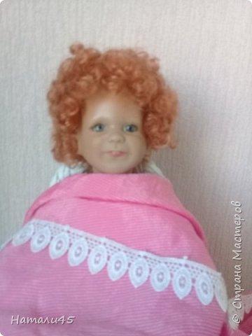 Здравствуйте, дорогие жители Страны мастеров. Давненько я здесь не была. Хочу вам рассказать историю реставрации маленькой куклы Маруси. фото 9