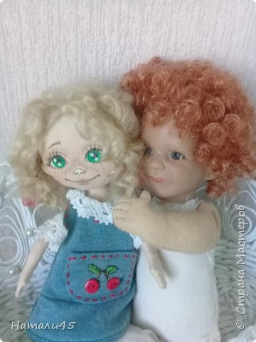 Здравствуйте, дорогие жители Страны мастеров. Давненько я здесь не была. Хочу вам рассказать историю реставрации маленькой куклы Маруси. фото 8