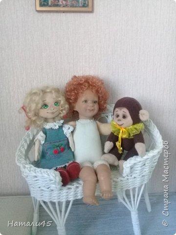 Здравствуйте, дорогие жители Страны мастеров. Давненько я здесь не была. Хочу вам рассказать историю реставрации маленькой куклы Маруси. фото 10