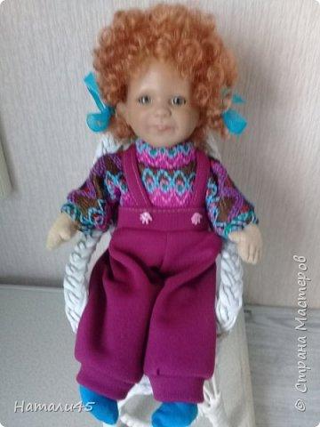 Здравствуйте, дорогие жители Страны мастеров. Давненько я здесь не была. Хочу вам рассказать историю реставрации маленькой куклы Маруси. фото 11
