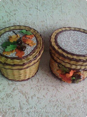 Шкатулочки осень фото 1