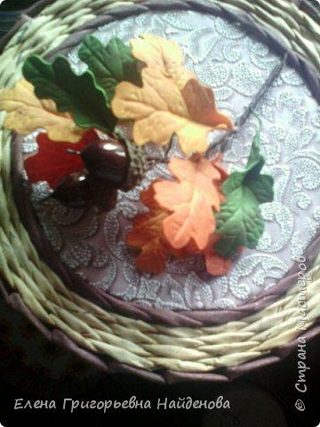 Шкатулочки осень фото 4