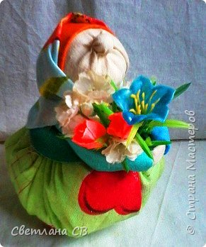 Бабуля-цветочница фото 2
