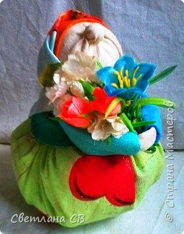Бабуля-цветочница фото 1
