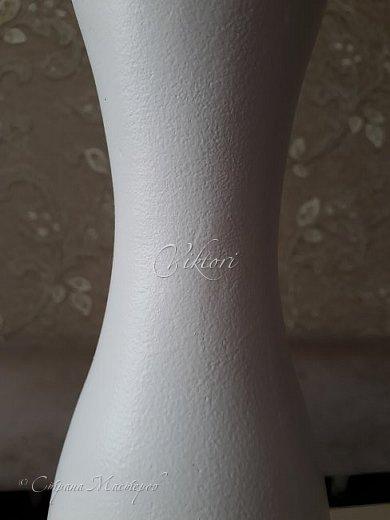 Добрый день Страна! Выкладываю мастер-класс по изготовлению вазы из бутылки. фото 14
