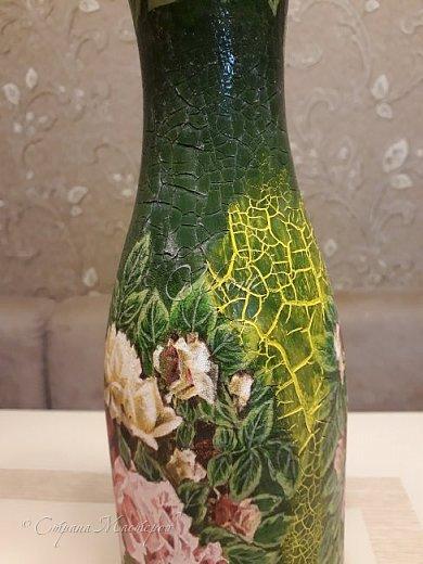 Добрый день Страна! Выкладываю мастер-класс по изготовлению вазы из бутылки. фото 40