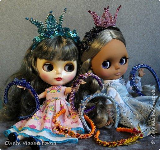 Мне очень понравилось делать ободочки на кукол. Хочу поделиться своими простыми наработками.