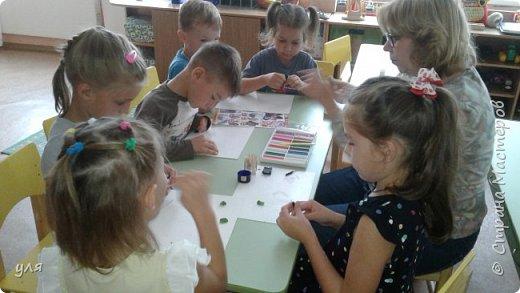 Наша работа с детьми подготовительной группы на выставку фото 3