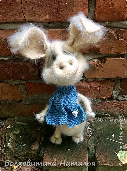 Дружище Свин ( связан по МК сайта Амигуруми) фото 1
