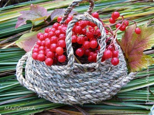 полюбила вить веревки из травы и сшивать из них посудинки разные фото 11