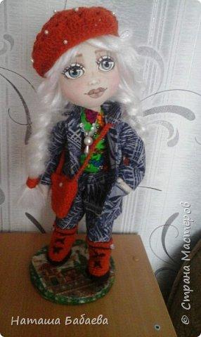 Кукла интерьерная,текстильная фото 4