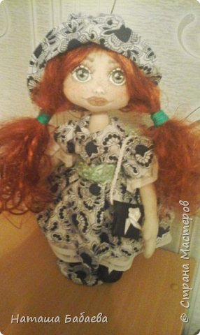 Кукла интерьерная,текстильная фото 1