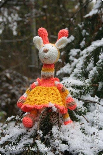 Всем добрый день! Вот мои новые игрушки. У нас выпал первый снежок и вот воспользовалась этим. фото 4