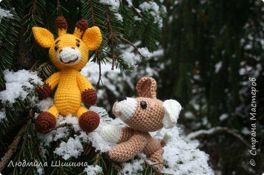 Всем добрый день! Вот мои новые игрушки. У нас выпал первый снежок и вот воспользовалась этим. фото 6