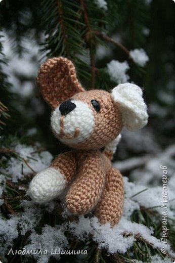 Всем добрый день! Вот мои новые игрушки. У нас выпал первый снежок и вот воспользовалась этим. фото 3