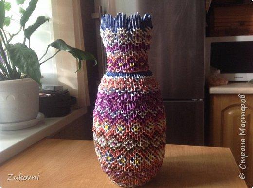 Короб 1 ( шкатулка под нитки)  газетное плетение фото 9