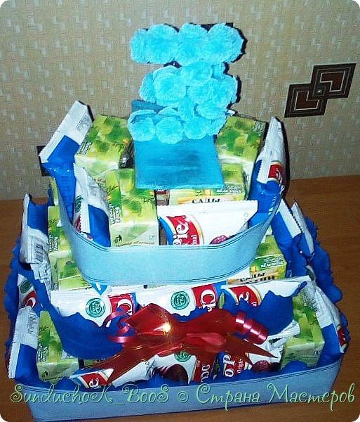 Добрый вечер,Страна! Вот какой тортик сотворился у меня для угощения деток в садик на дочкин день рождения фото 2