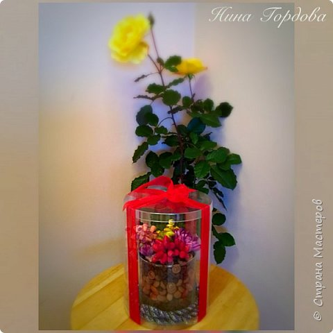 Мои любимые суккуленты , оформленные в арома- композицию. Такой вот получился подарок для моей подруги на юбилей фото 1
