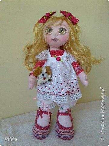 Я познакомил вас с моей первой русской куклой !!! Его зовут Руби, его одежда была очень сложной! но здесь фото 1