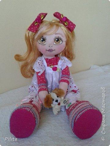 Я познакомил вас с моей первой русской куклой !!! Его зовут Руби, его одежда была очень сложной! но здесь фото 3